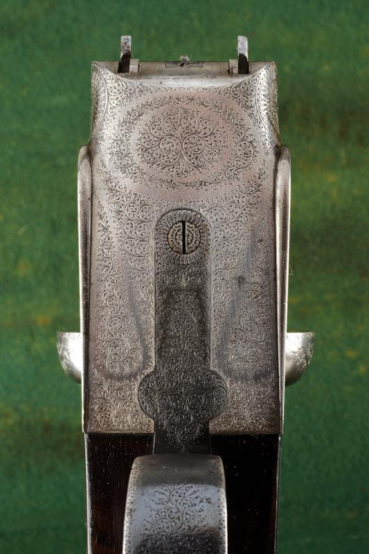 A Charles Boswell Mod. HH cased double-barreled shotgun - Image 9 of 19