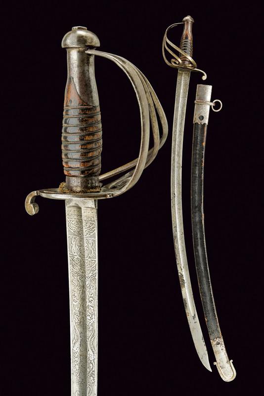 A sabre of Arrighi de Casanova, Duke of Padoa