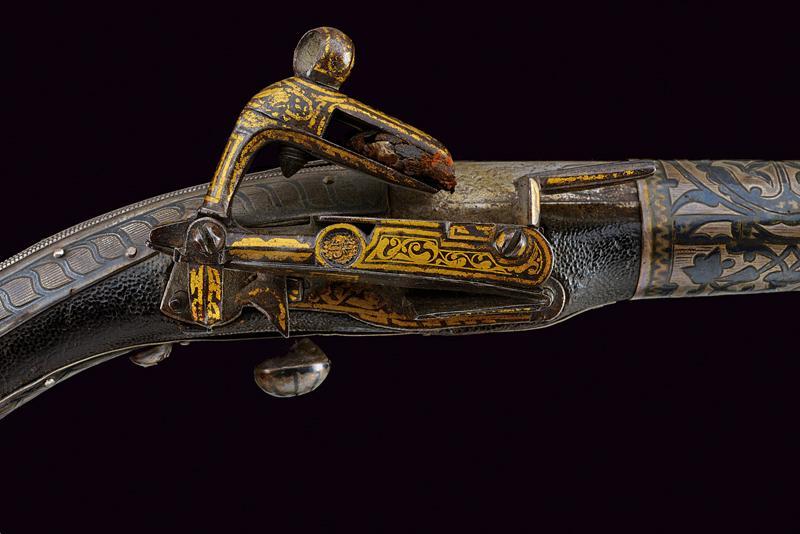 A fine miquelet flintlock pistol - Image 2 of 9
