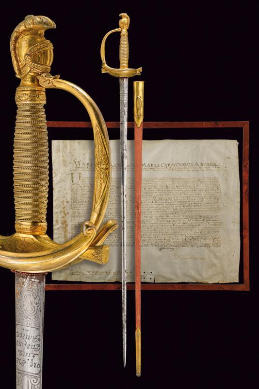 An Admiral's sword