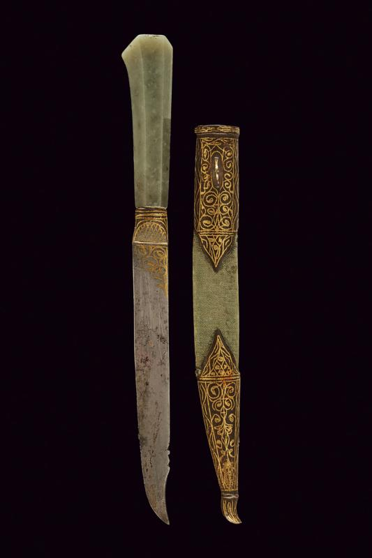 A jade hilted knife - Image 6 of 6
