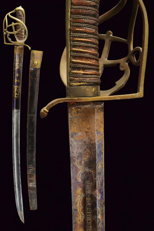 A rare navy sabre