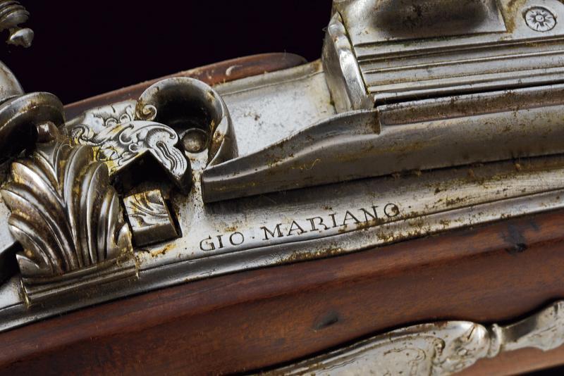 A fine flintlock gun by Gio Mariani - Image 4 of 16