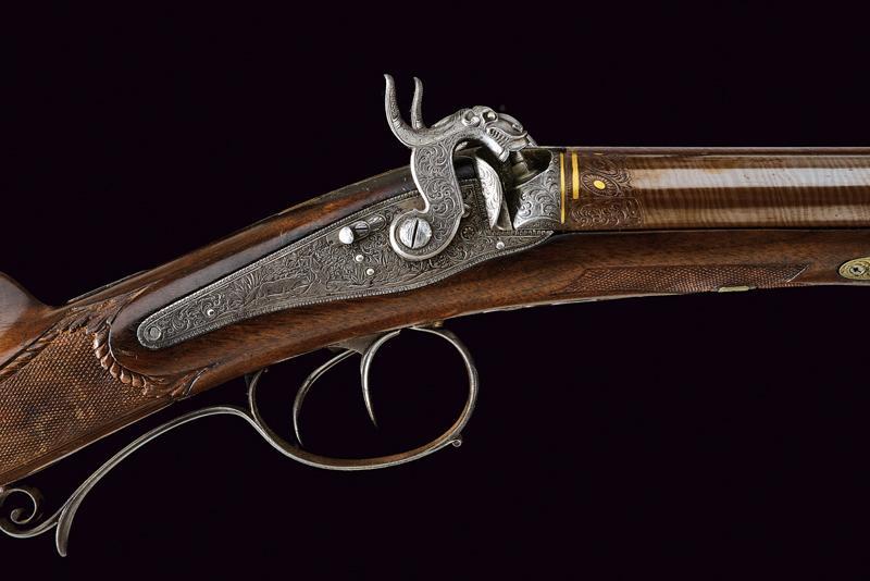 A beautiful double-barrelled shotgun by Maschek - Image 2 of 9