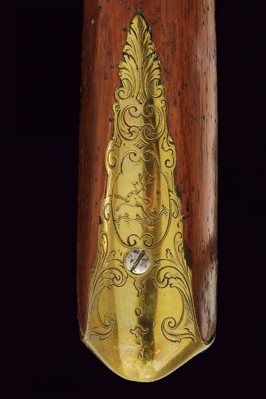 A very scarce flintlock grenade launcher by David Dick - Image 2 of 10
