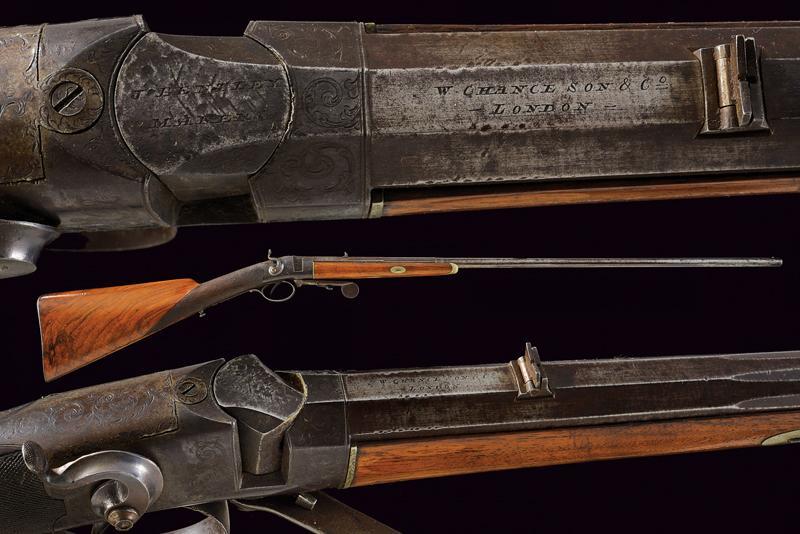 A breech loading carbine by Bentley
