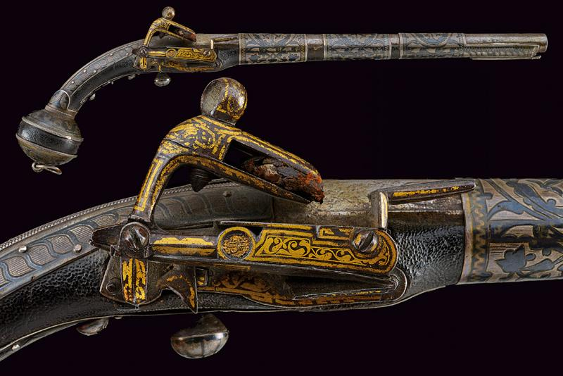 A fine miquelet flintlock pistol