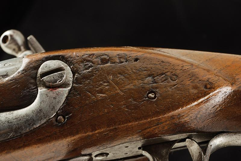 A pair of gendarmerie flintlock pistols by Facchetti - Image 6 of 6