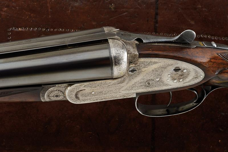 A Charles Boswell Mod. HH cased double-barreled shotgun - Image 17 of 19