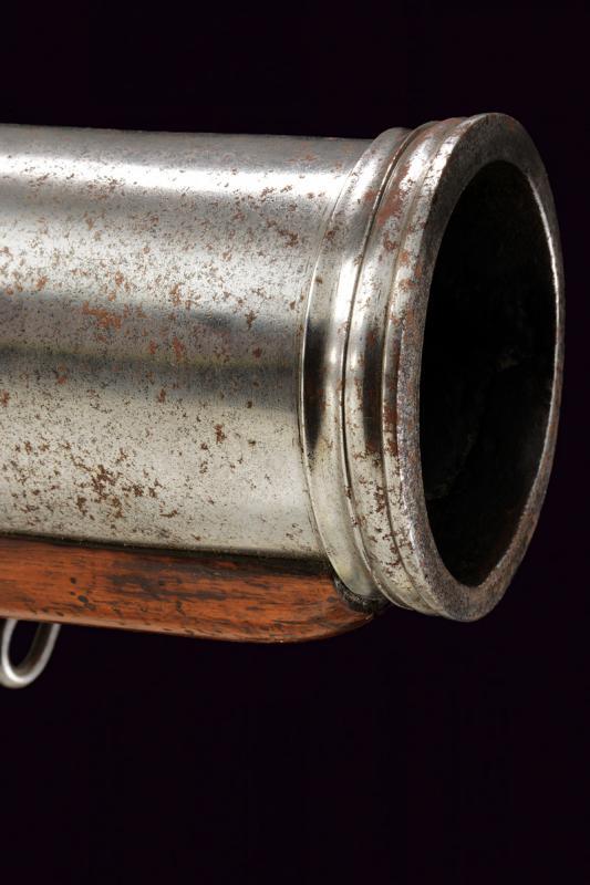 A very scarce flintlock grenade launcher by David Dick - Image 8 of 10