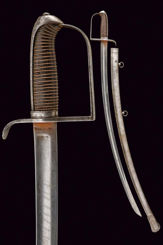 An officer's sabre