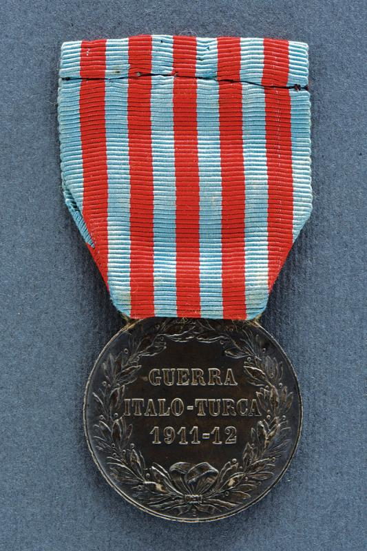 A medal of the Italo-Turkish War - Image 2 of 2
