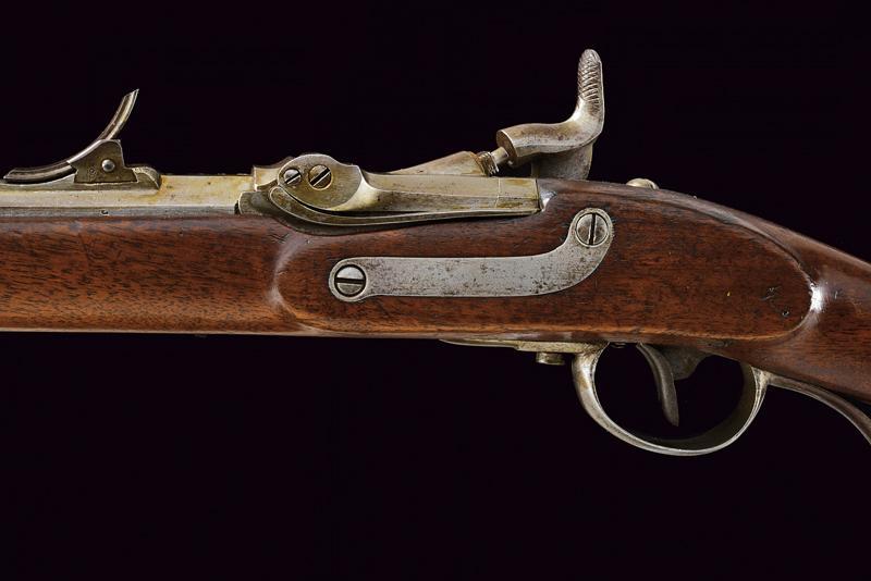 A Jagerstutzen mod. 1854/67 with bayonet - Image 4 of 12