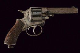 A Blanch & Son center fire revolver