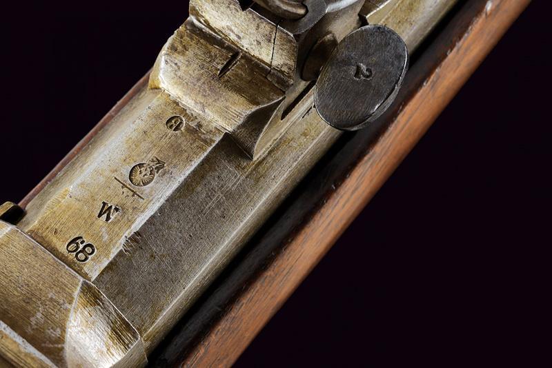 A Jagerstutzen mod. 1854/67 with bayonet - Image 3 of 12