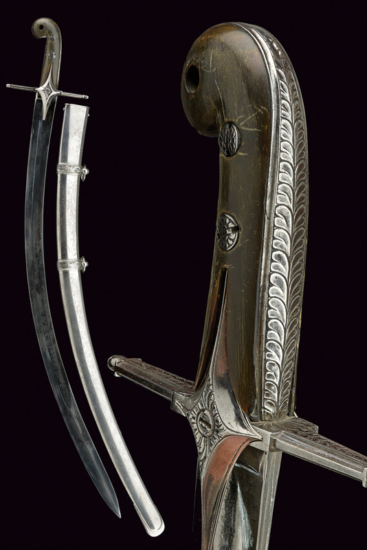 A Mameluk officer's sabre
