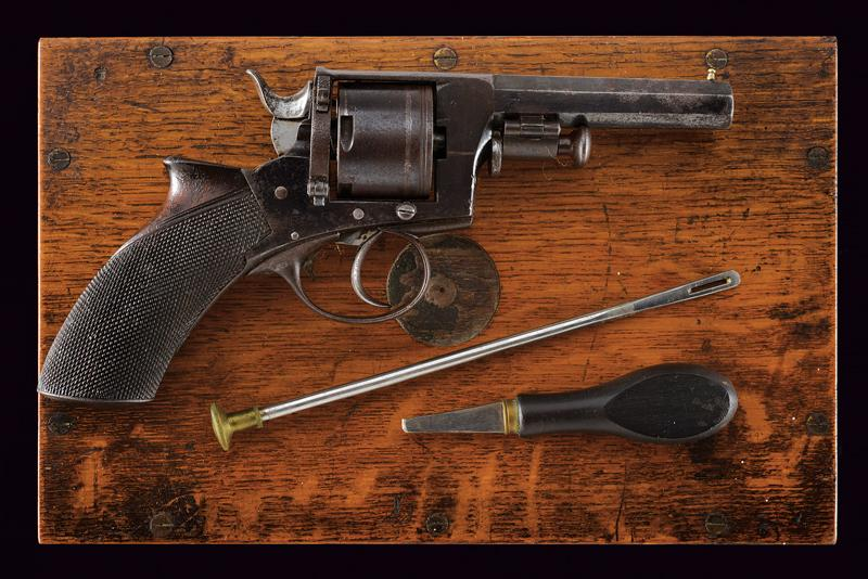 A cased centerfire revolver by Charles Ingram - Image 3 of 5