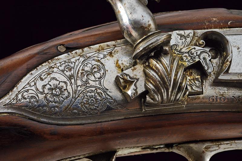 A fine flintlock gun by Gio Mariani - Image 12 of 16