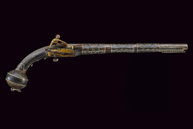 A fine miquelet flintlock pistol - Image 9 of 9