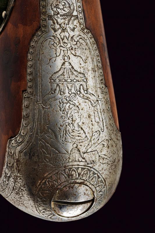 A fine flintlock gun by Gio Mariani - Image 9 of 16
