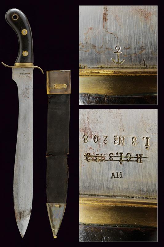 A rare 1848 model cutlass