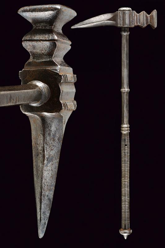 A war hammer in the 17th century style