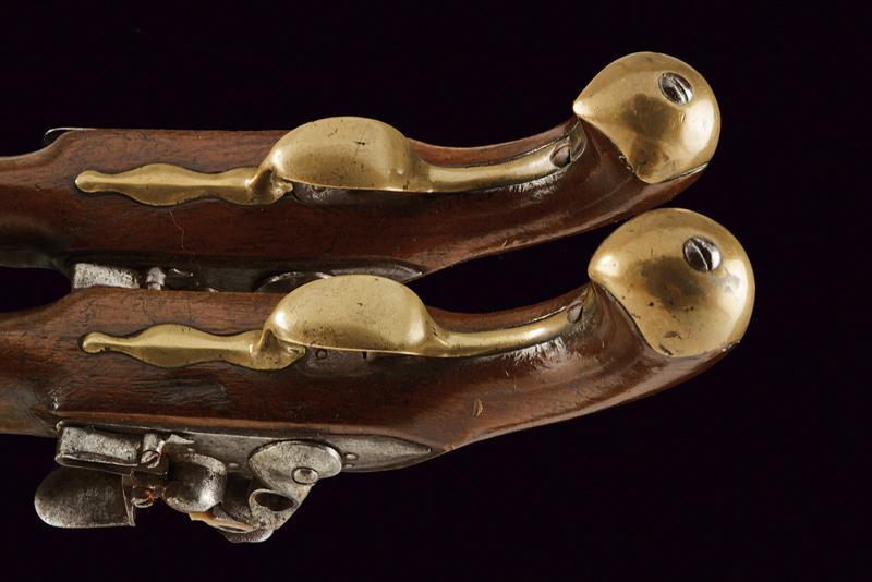 A pair of port gendarmerie pistols - Image 4 of 4