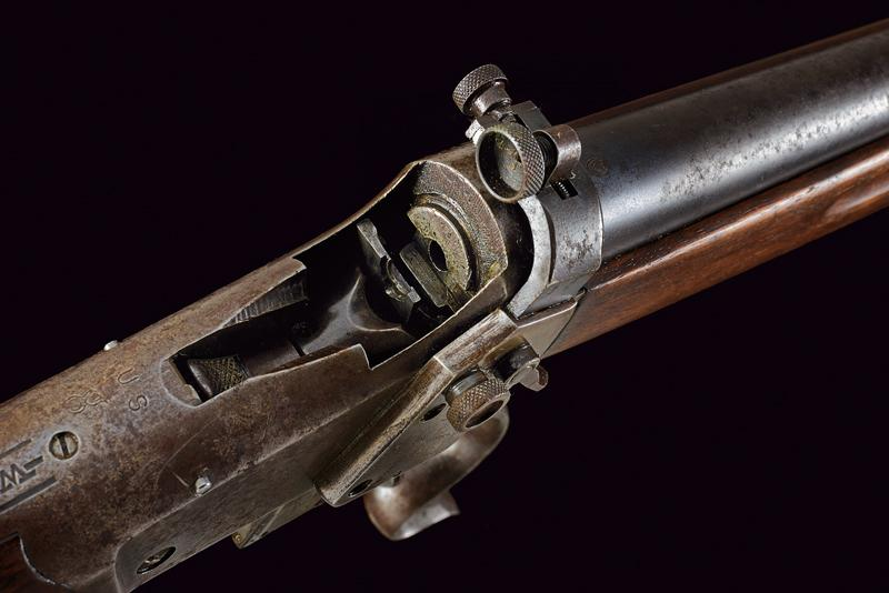 A Winchester Third Model Low Wall Musket (Winder Musket) - Image 12 of 14