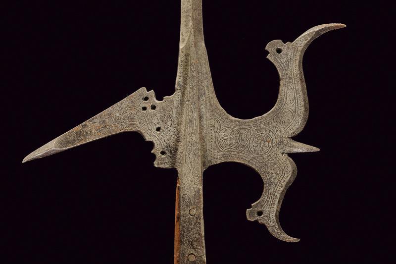 An engraved halberd - Image 2 of 6