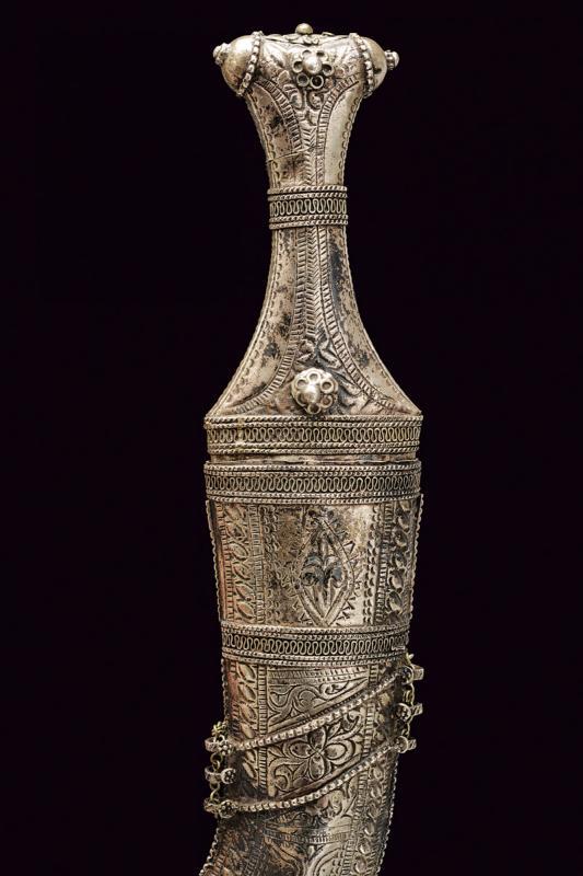A silver mounted jambiya - Image 3 of 4