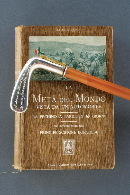 Puccini, Giacomo - stick and book with dedication to his lover - Image 2 of 8