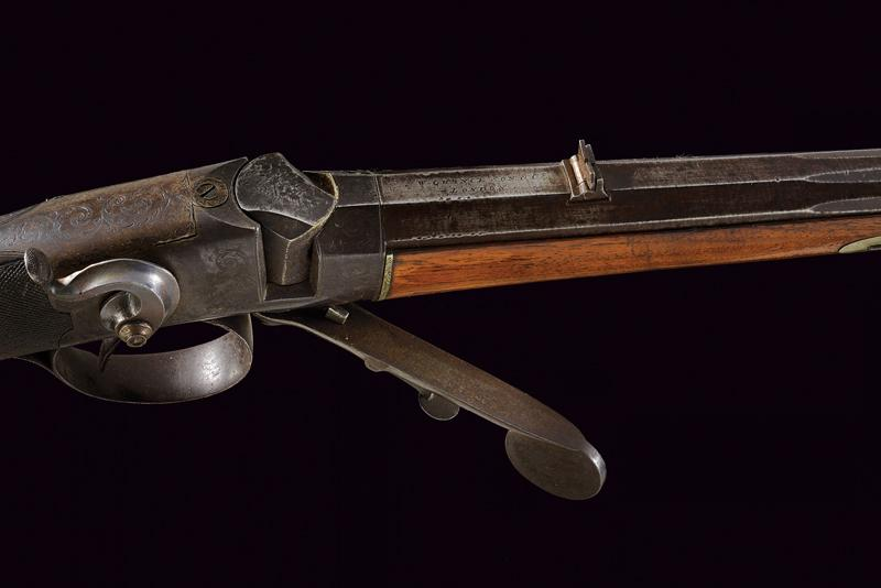 A breech loading carbine by Bentley - Image 5 of 9