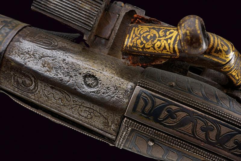 A fine miquelet flintlock pistol - Image 3 of 9