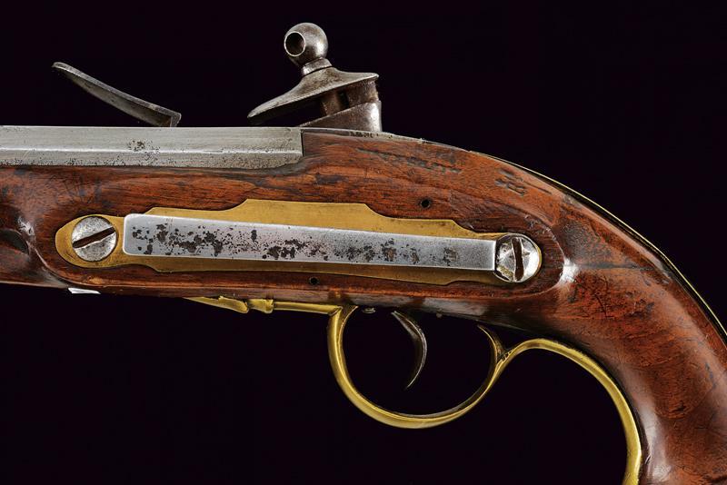 A flintlock pistol - Image 5 of 7
