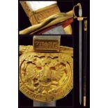 An 1849 model civil servant's sword