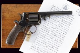 A cased Adams revolver by Francotte
