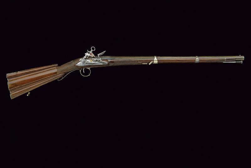 A beautiful miquelet flintlock gun - Image 9 of 10
