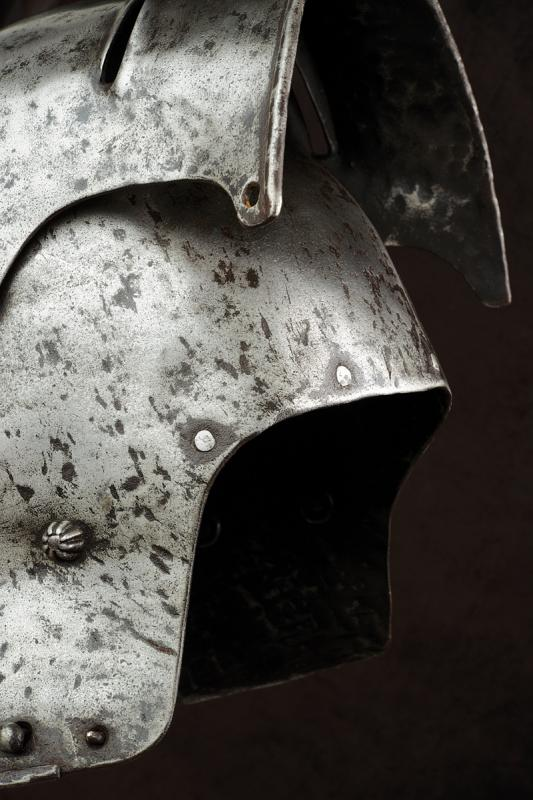 A gothic ventail sallet in early 16th Century style - Image 4 of 6