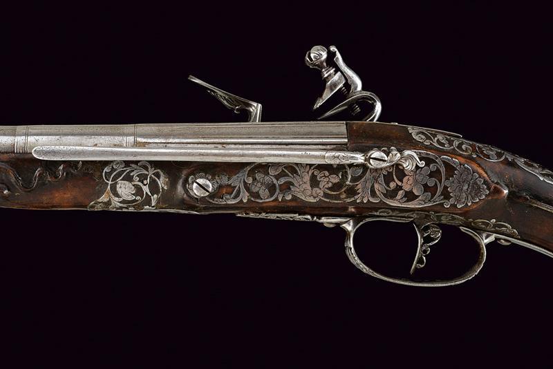 A beautiful pair of flintlock pistols by Francesco Garatto - Image 4 of 13