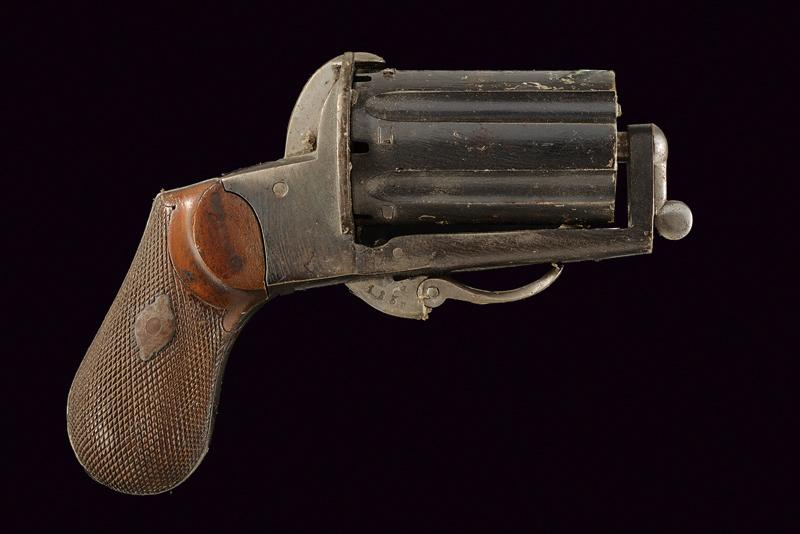 A pin fire pepperbox revolver - Image 4 of 4