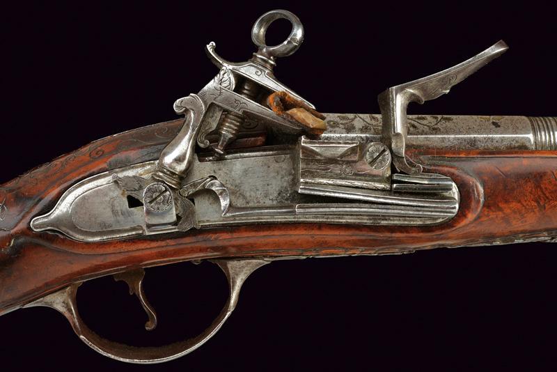 A roman style flintlock pistol - Image 2 of 5