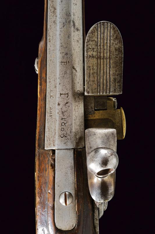 An infantry flintlock gun - Image 3 of 10