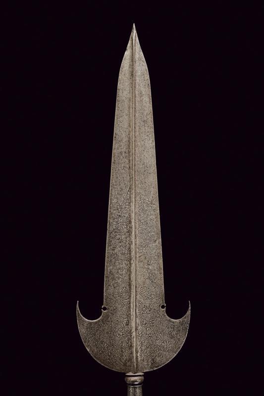 An engraved partizan - Image 6 of 8