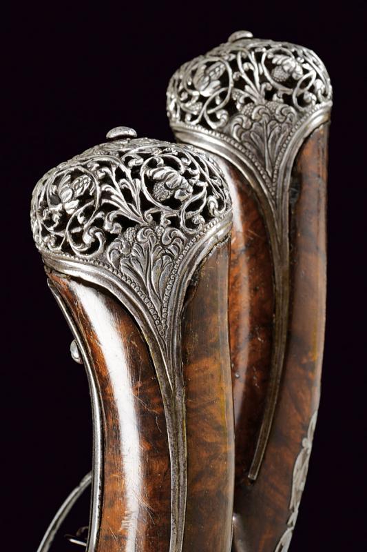 A beautiful pair of flintlock pistols by Francesco Garatto - Image 11 of 13
