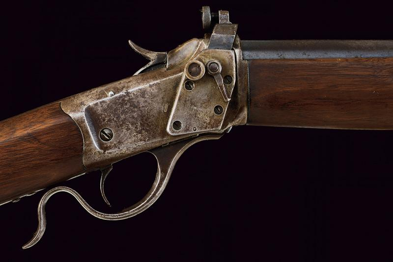 A Winchester Third Model Low Wall Musket (Winder Musket) - Image 3 of 14