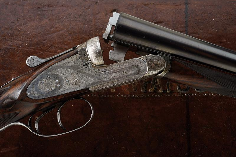 A Charles Boswell Mod. HH cased double-barreled shotgun - Image 16 of 19
