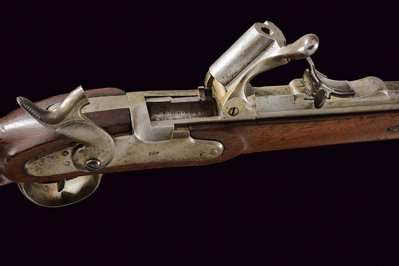 A Jagerstutzen mod. 1854/67 with bayonet - Image 8 of 12