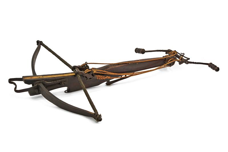 A big crossbow with jack