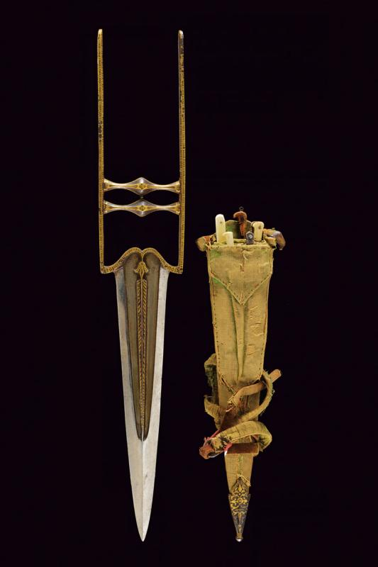 A beautiful katar with accessories and scabbard - Image 9 of 9