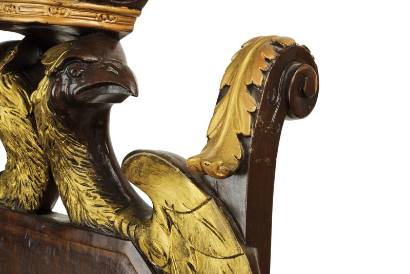 An important masonic throne - Image 2 of 11